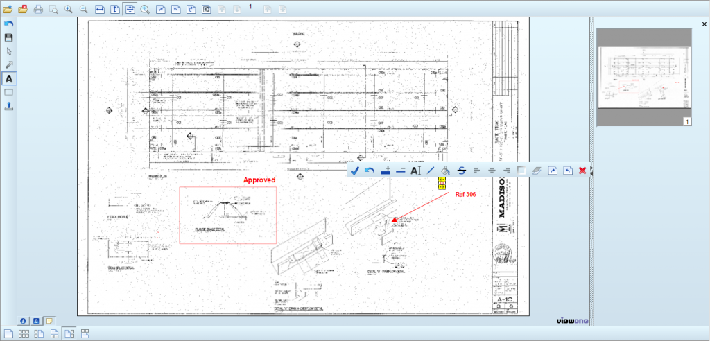 Construction Software Drawing Markup